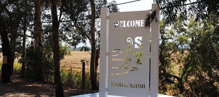 Sibari Hotel Einfahrt Schild
