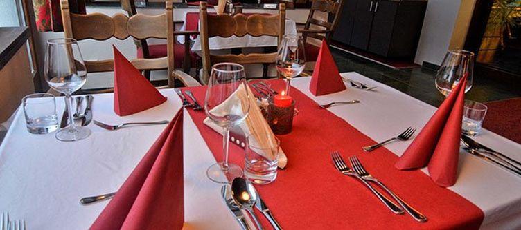 Silvretta Restaurant Gedeck