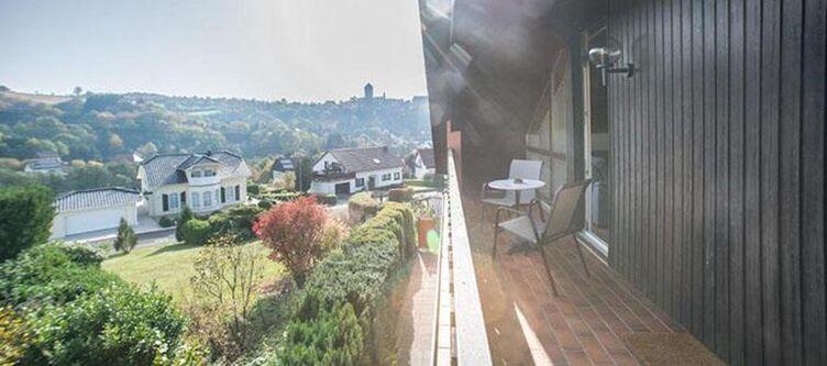 Sonnenhuegel Fewo Gaensebluemchen Balkon