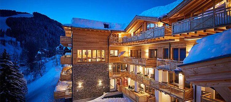 Sonnleiten Hotel Winter Nacht2