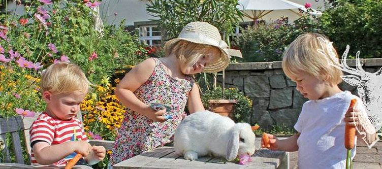 Spielweg Terrasse Kinder Mit Hase