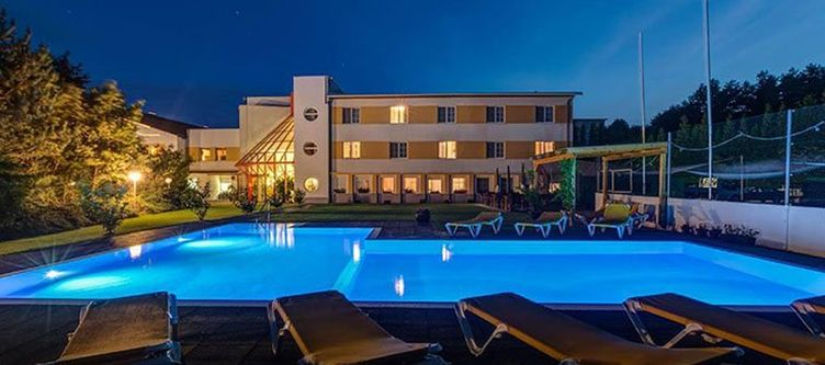 Sporthotelkurz Hotel Abend