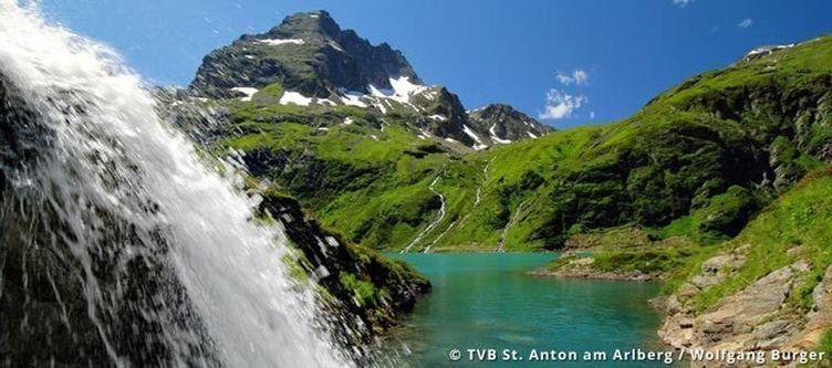 Stanton Sommer Wasserfall