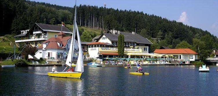 Steiner Hotel Segelboot