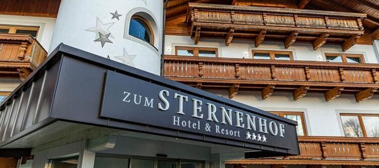Sternenhof Hotel Eingang