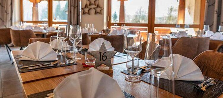 Sternenhof Restaurant Gedeck2