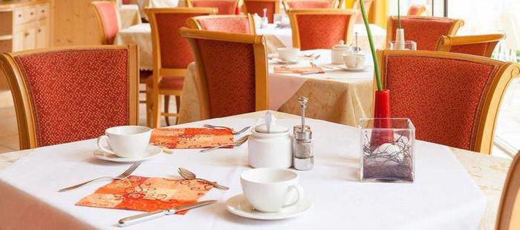 Stroblhof Restaurant Gedeck