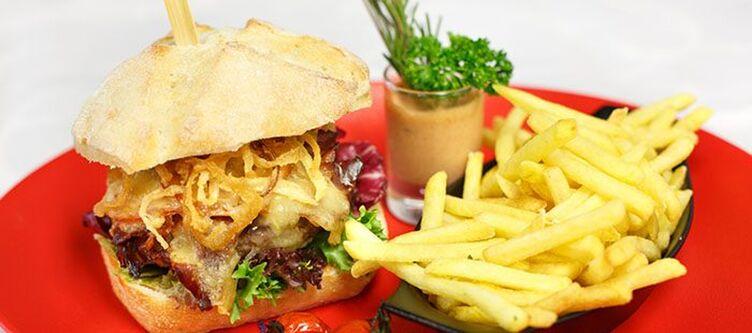 Swisschalet Kulinarik Burger