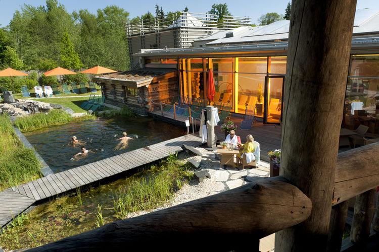 Therme Bad Steben Sauna Badeteich