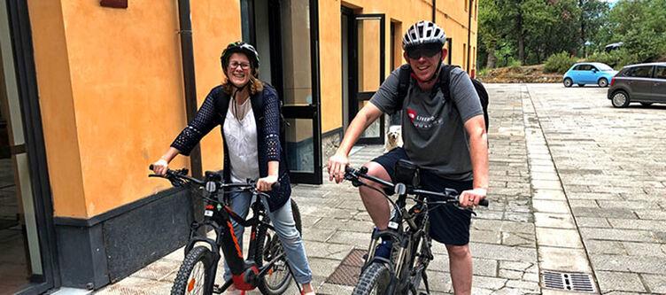 Toscana Radfahren