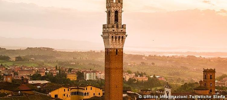 Toskana Siena Turm