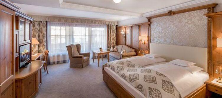 Trofana Zimmer Doppel Deluxe Bett