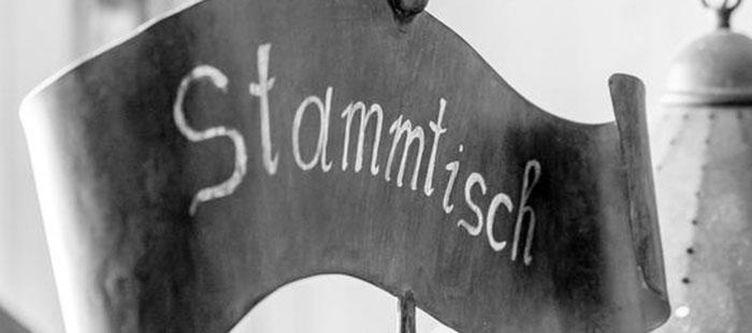 Tyrol Restaurant Stammtisch Schild