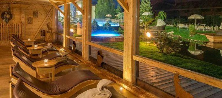 Tyrol Wellness Ruheraum Abend