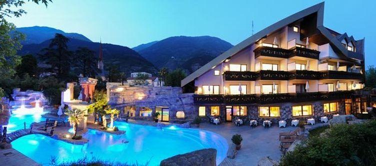 Vier Jahreszeiten Hotel Abend