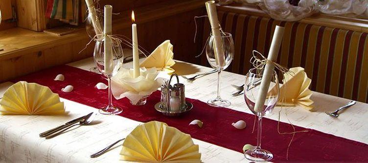 Vierjahreszeiten Restaurant Gedeck