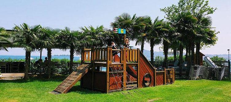 Villalsole Garten Spielplatz