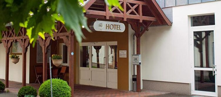 Waldschloesschen Hotel Eingang
