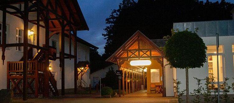 Waldschloesschen Hotel Terrasse