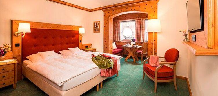 Wallgau Zimmer Dorfblick2
