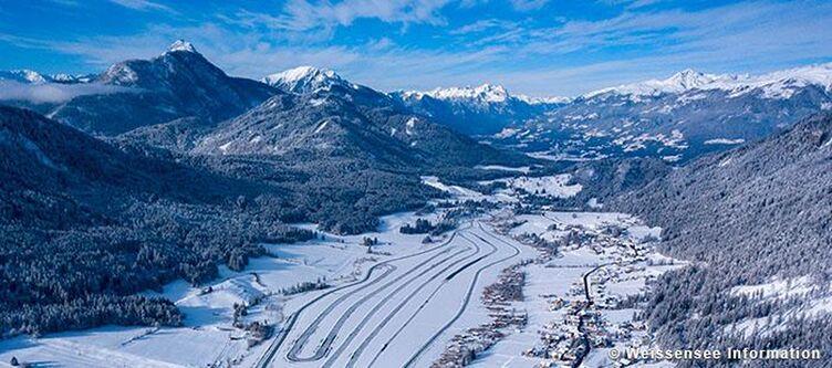 Weissenseee Winter Panorama Winter4