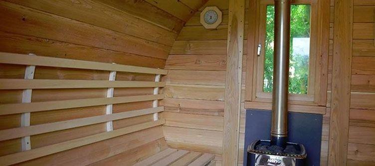 Wieshof Aussen Sauna