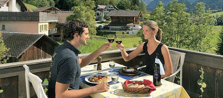 Wildhorn Terrasse Dinner