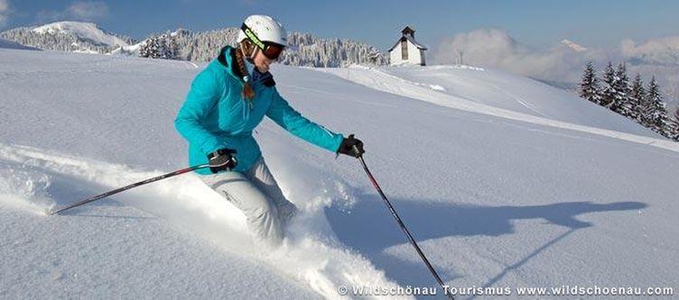 Wildschoenau Skifahren Markbachjoch 1