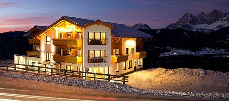 Winterer Hotel Winter Abend