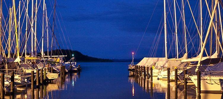 Yachthotel Hafen Nacht