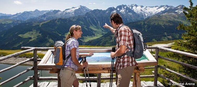 Zillertal Arena Aussichtspunkt Latschensee 1