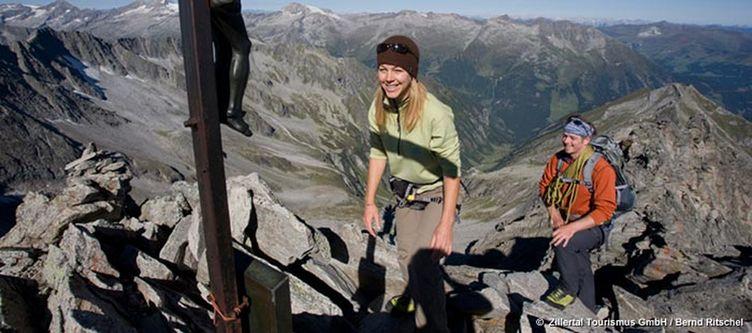 Zillertal Gipfelkreuz