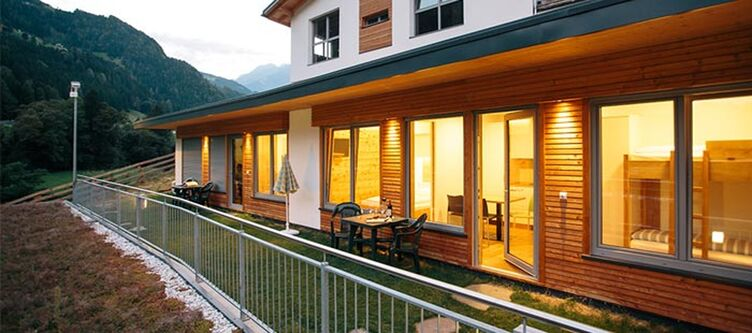 Zoegghof Bungalow Terrasse