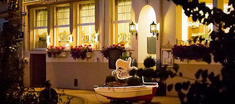 Zwei Mohren Hotel Nacht